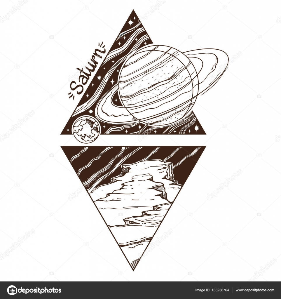 Planets and stars of Solar system. — Stock Vector © filkusto #166238764