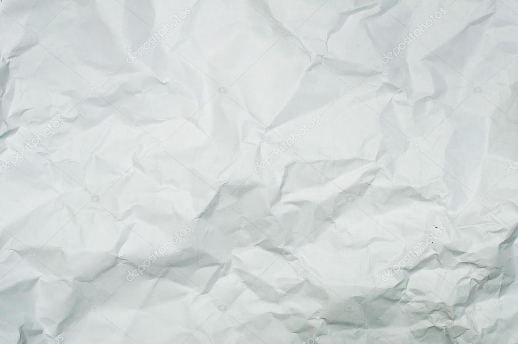 Textur zerknittertes Papier weiß — Stockfoto © zersorasak #126062258