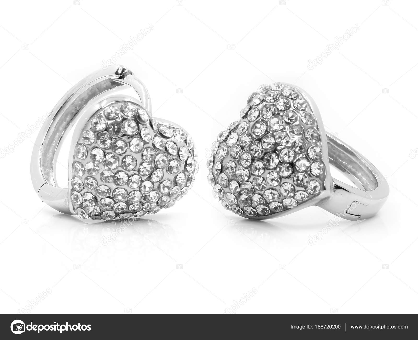 8b88660e99b5 Pendientes de joyería para mujer - acero inoxidable — Foto de stock ...