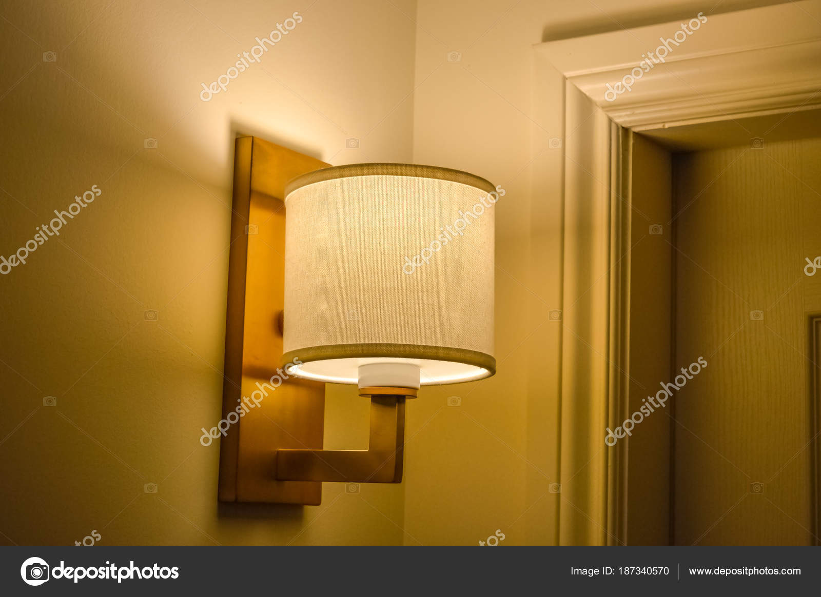 Wall Lamp Shadow Long Shutter Speed — Stock Photo © bakerjarvis ...