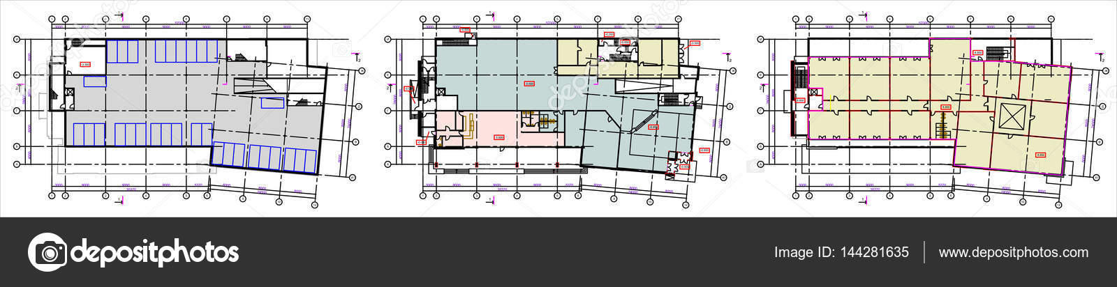 floor plan office furniture symbols. Standard Office Furniture Symbols On Floor Plans \u2014 Stock Vector Plan R