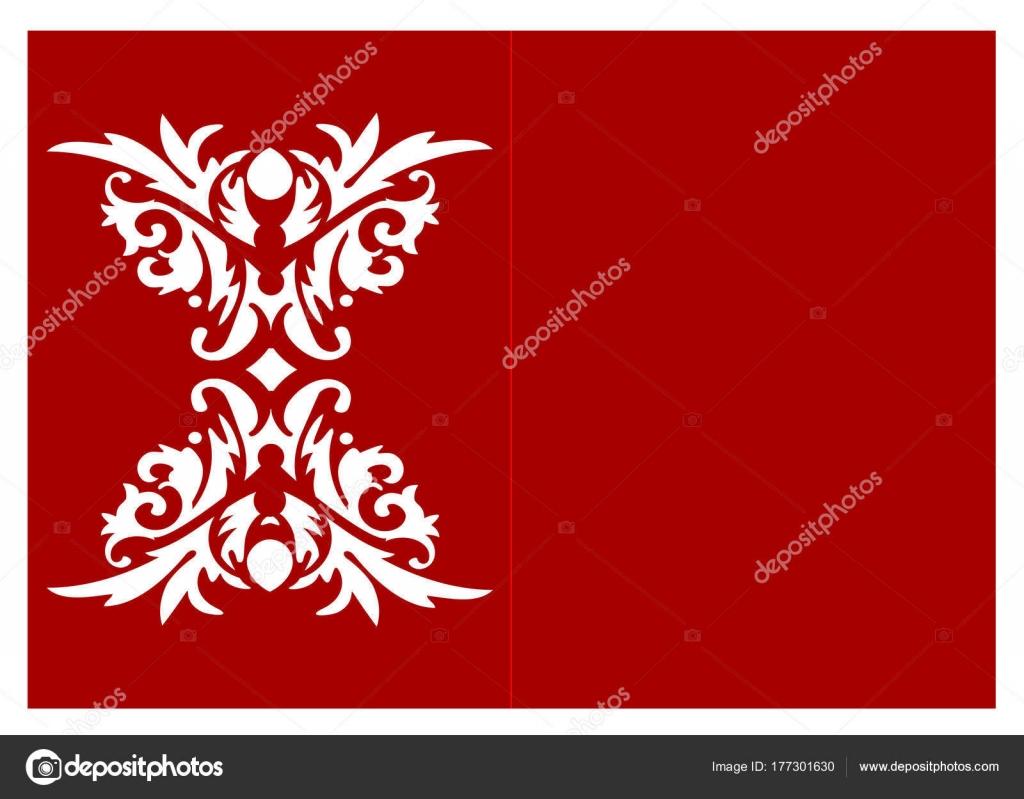 Laser cut vector template — Stock Vector © YAZZIK #177301630