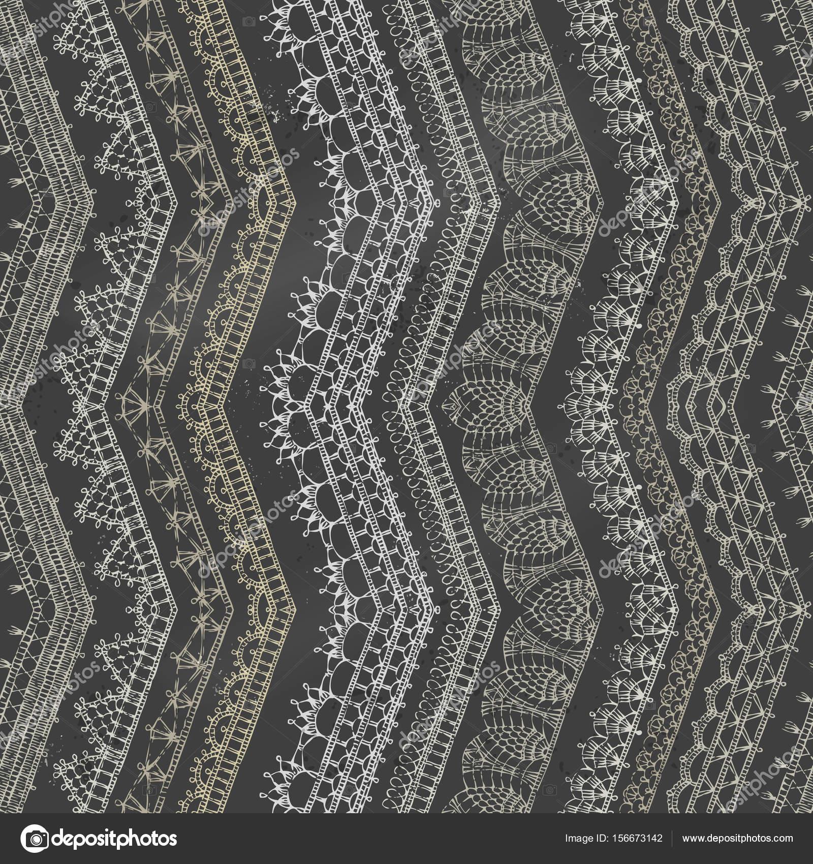 zig-zag crochet de patrones sin fisuras — Archivo Imágenes ...