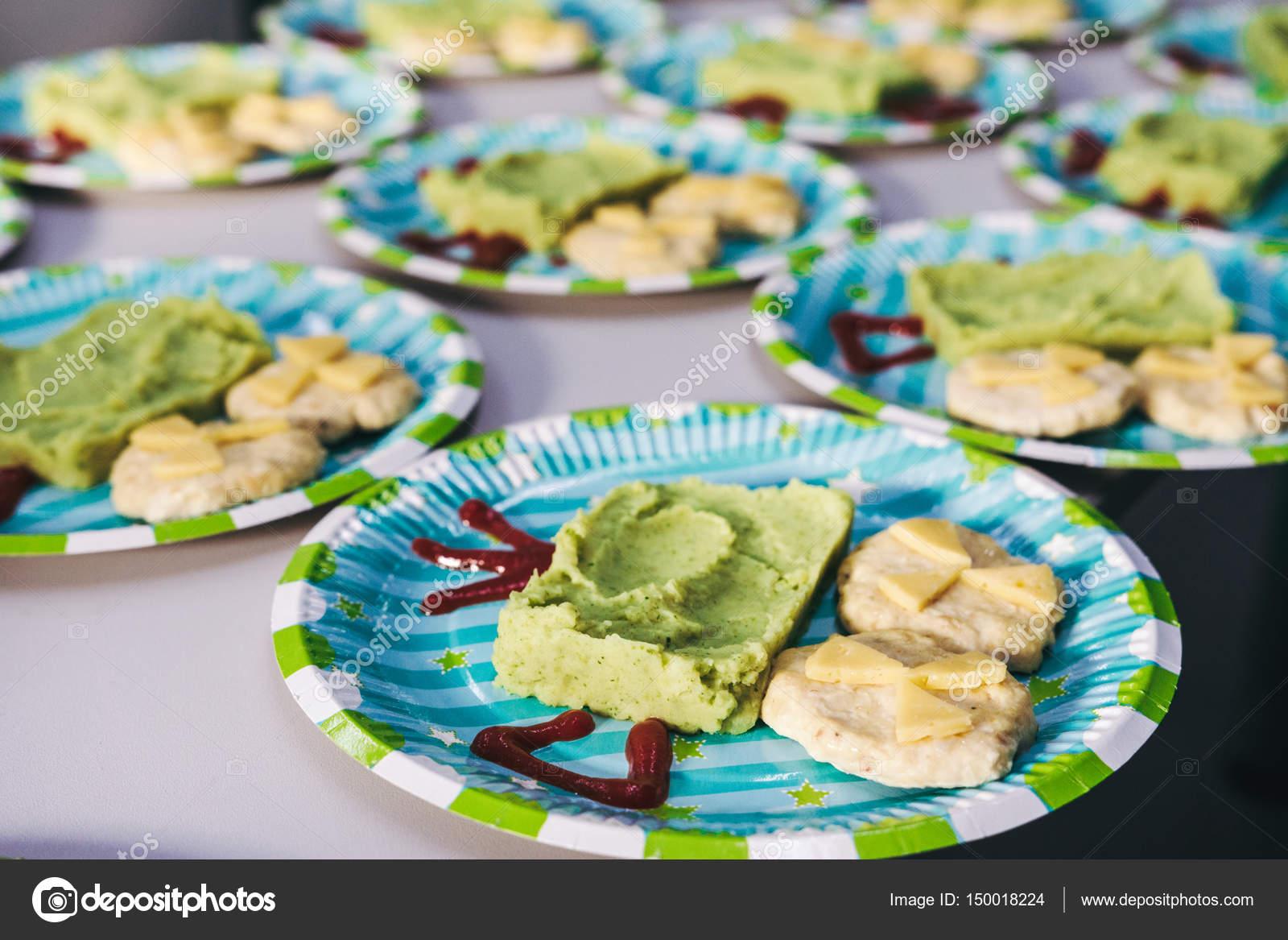 Brilliant Fingerfood Kindergeburtstag Foto Von Gastronomie — Stockfoto