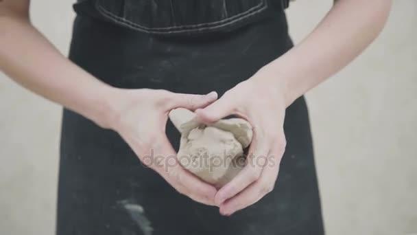 Handwerker Künstler Keramik Skill-Workshop-Konzept.