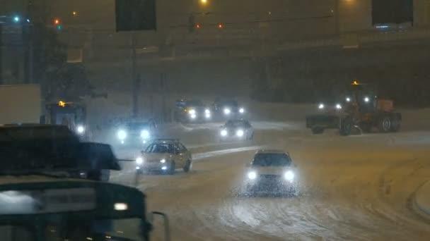 Velké silniční stroje, sněhové stroje, poháněné kbelík rypadlo