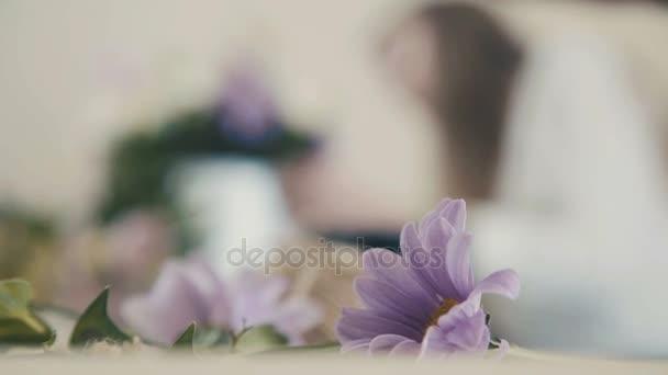 Mesterkurzus o virágüzlet, virágcsokor munkahelyi