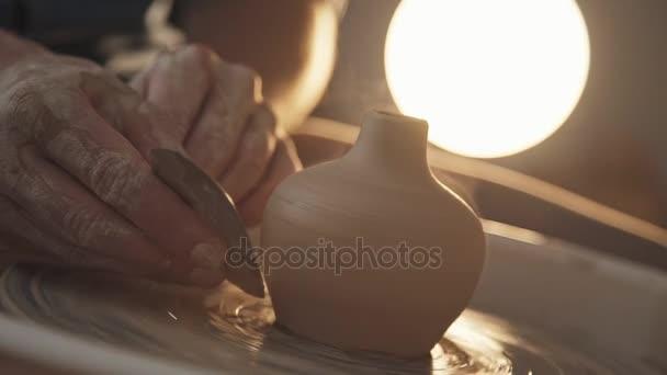 Potter tvary výrobku jíl s keramikou Nástroje