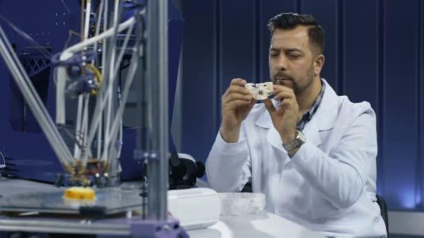 Vakciny sledování 3D tisku modelu