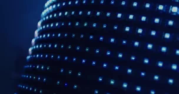 Led světla bliká na bicí soupravu
