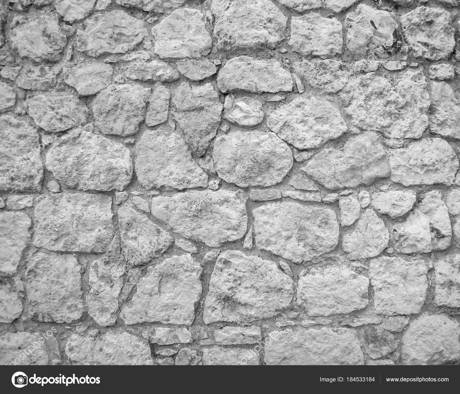 Muro Piedra Gris Como Textura Foto de stock alfexe 184533184