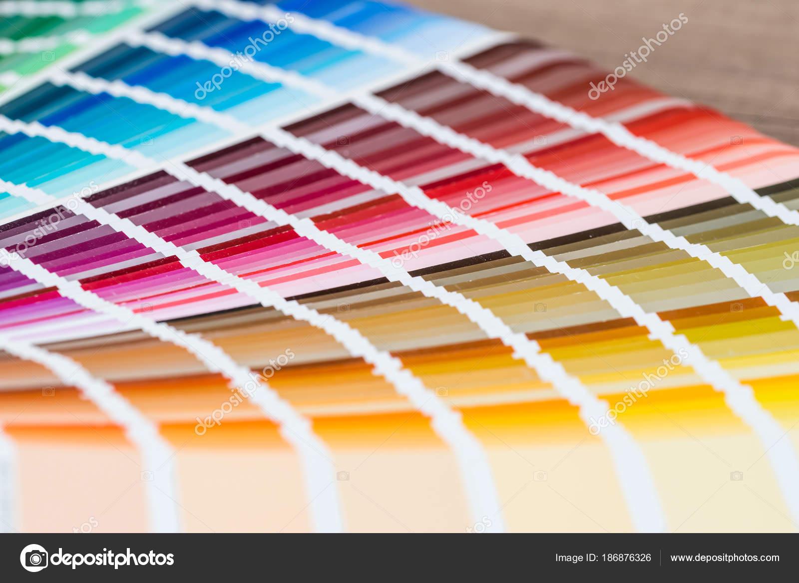 open sample colors catalogue stock photo alfexe 186876326