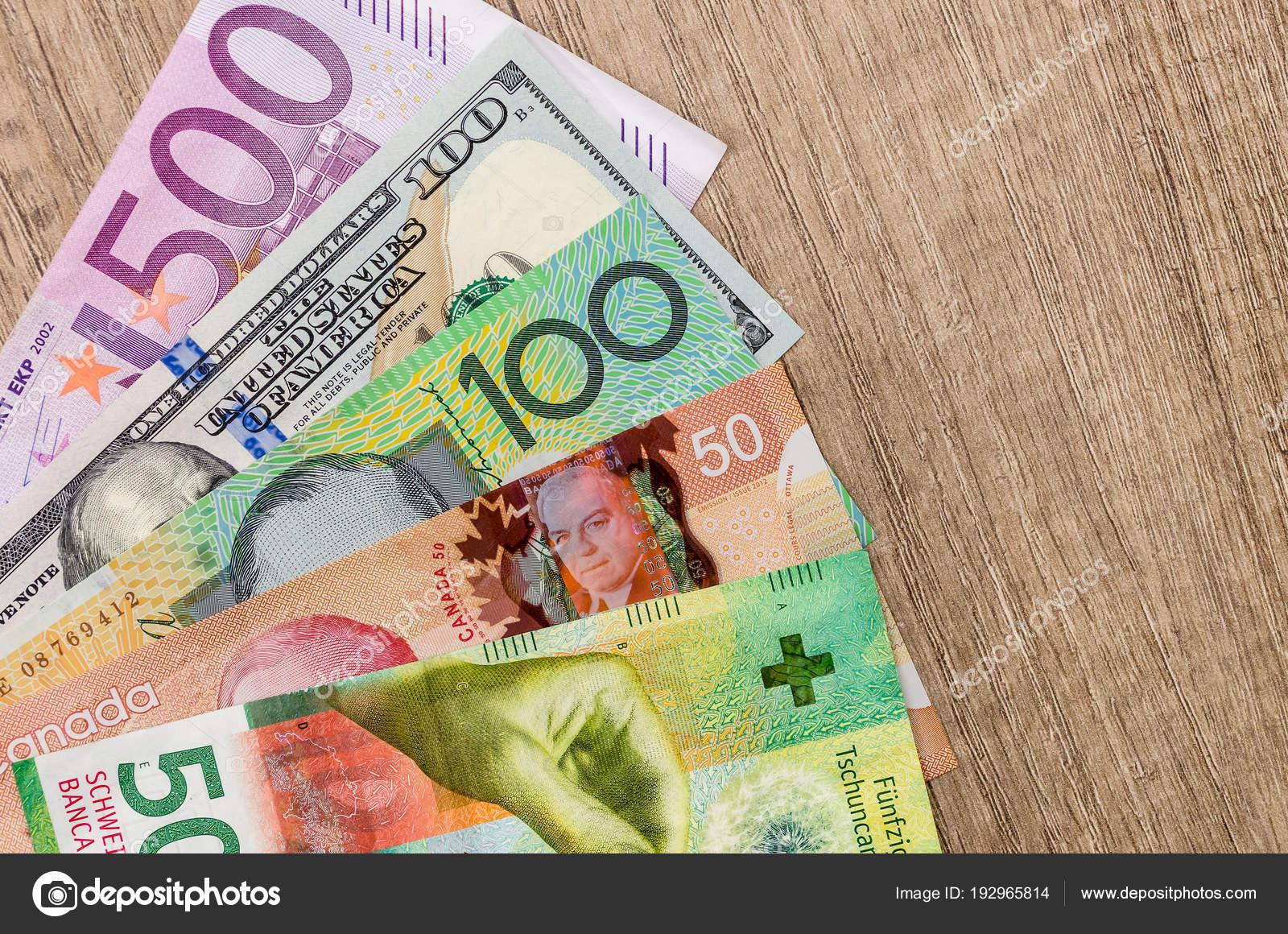 Amerikan Doları Avrupa Euro Isviçre Frankı Kanada Doları Avustralya