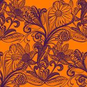 blumen in aquarell und bleistift auf papier gezeichnet rosen lilien und orchideen elegante. Black Bedroom Furniture Sets. Home Design Ideas