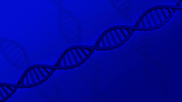 DNS-molekulában megfordul. 3D-leképezés.