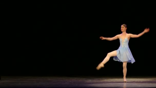 beautiful ballerina dancing