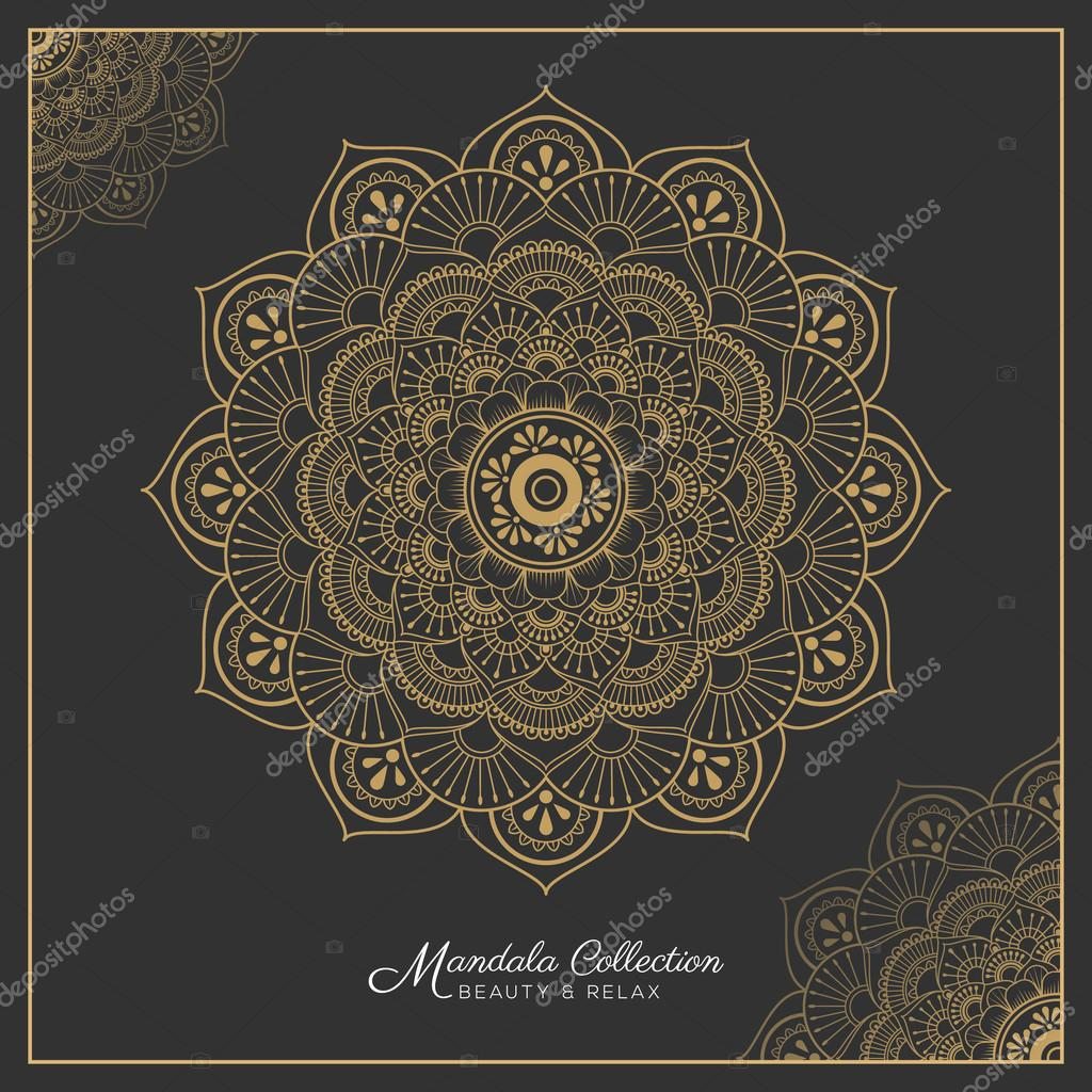 Henna Mandala Tattoo Design Stock Vector C Raftel 125721732