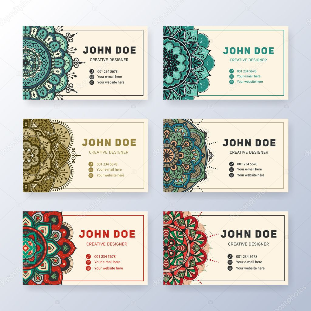 Creative useful business name card design — Stock Vector © raftel ...