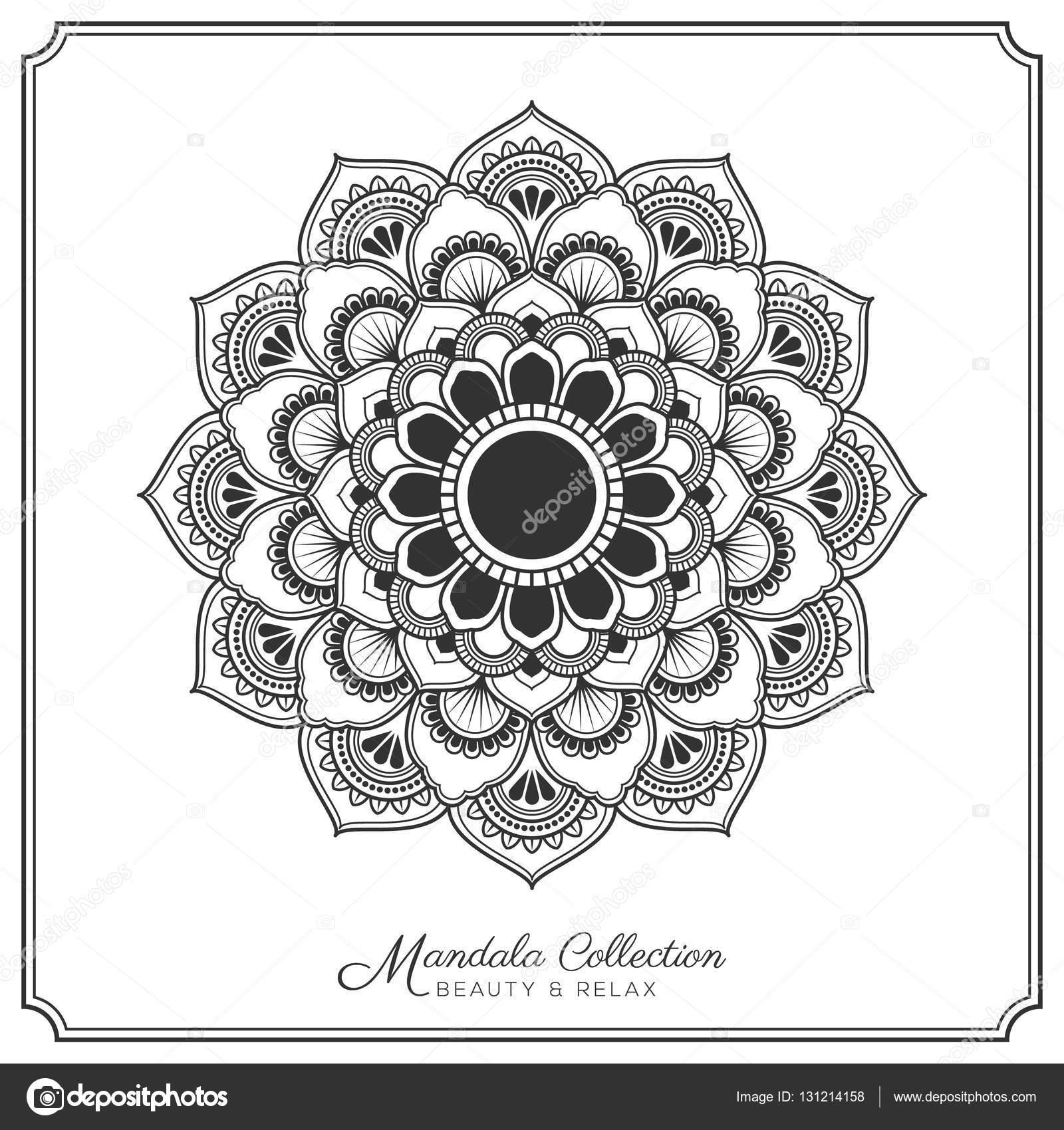 Diseño De Mandalas Para Tatuajes Diseño Del Tatuaje Y El Ornamento