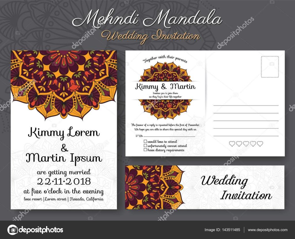 Klassische Vintage Hochzeit Einladung Kartendesign — Stockvektor ...