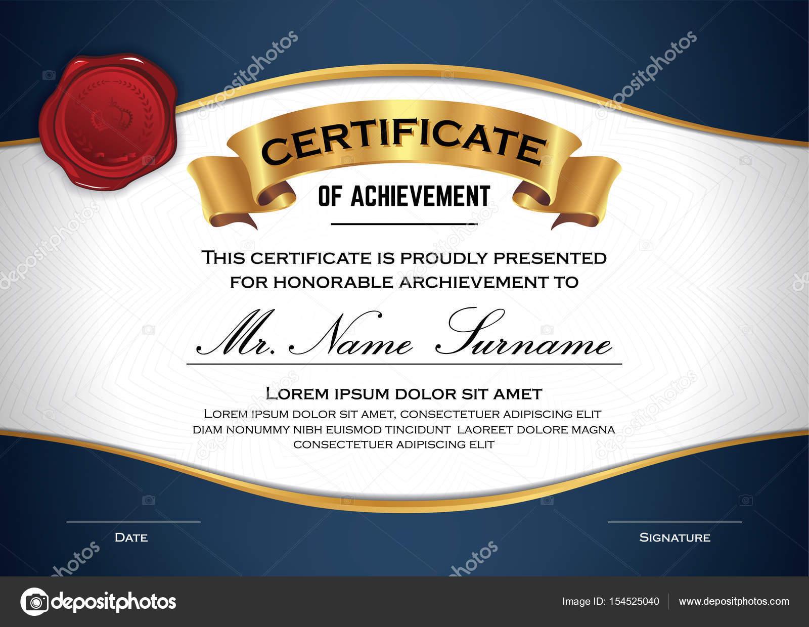 Vielseitige professionelle Zertifikatvorlage — Stockvektor © raftel ...