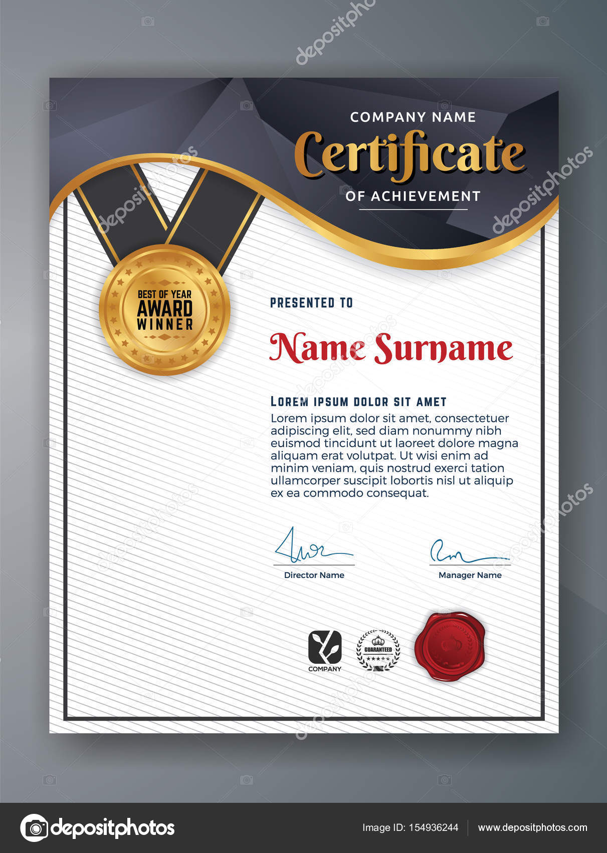 Professional certificate template design stock vector raftel professional certificate template design stock vector 1betcityfo Gallery