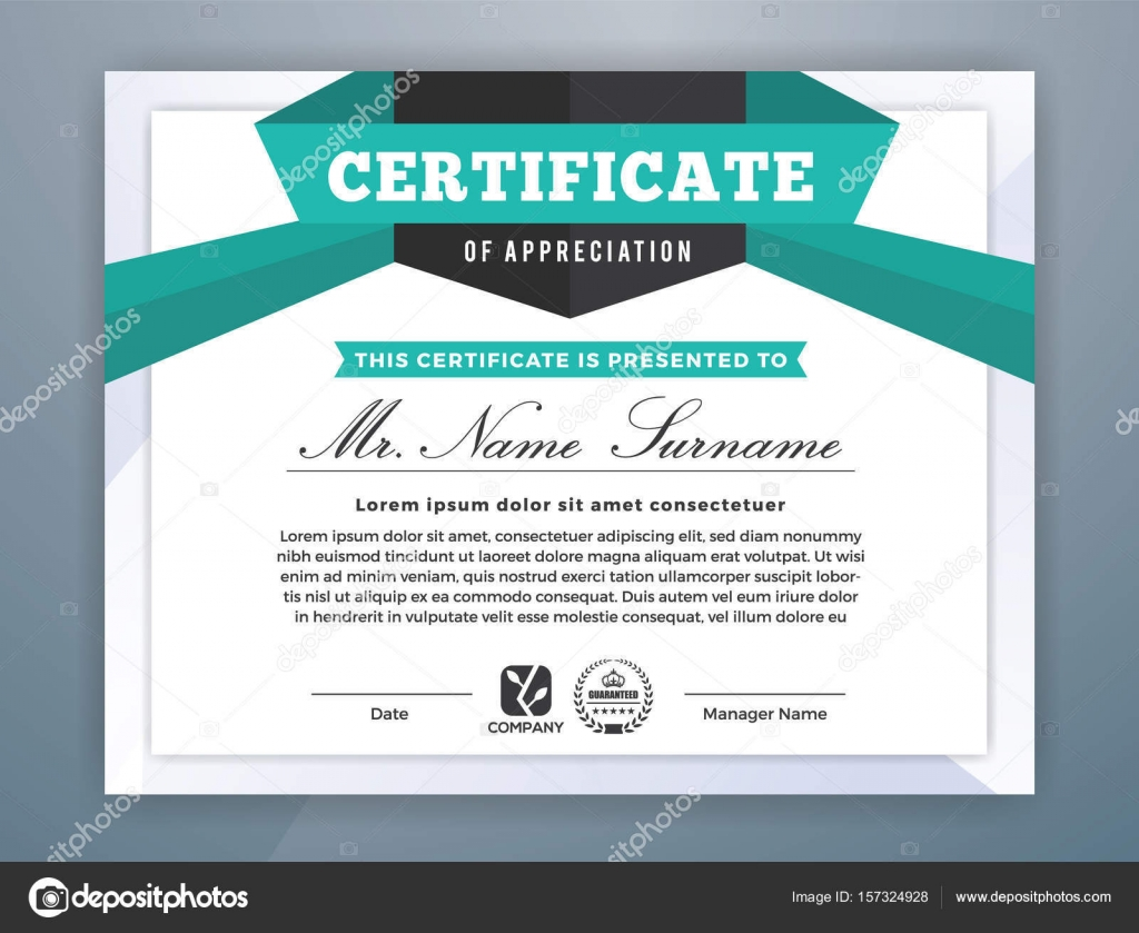 Multipurpose modern professional certificate template stock vector multipurpose modern professional certificate template design for print vector illustration vector by raftel yelopaper Gallery