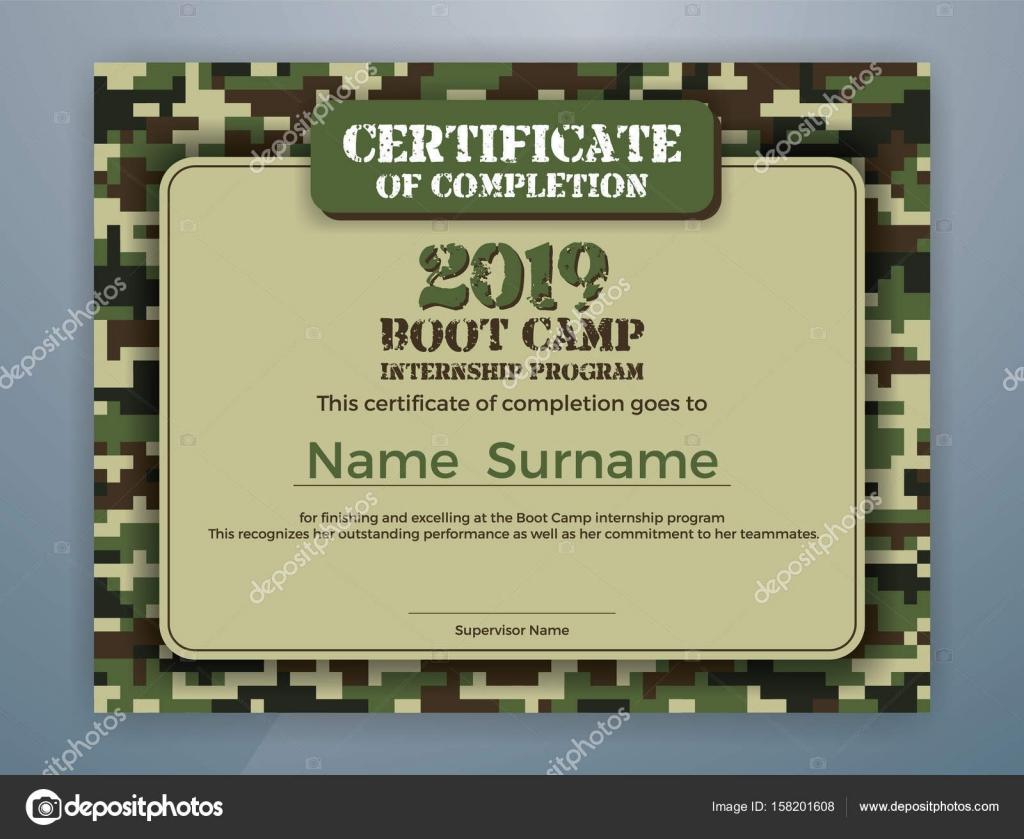 Plantilla de certificado de programa de prácticas de campo de ...