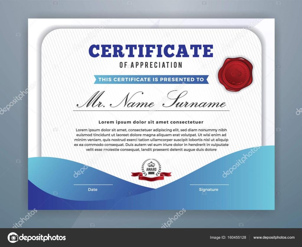 Wunderbar Moderne Zertifikatvorlagen Galerie - Entry Level Resume ...