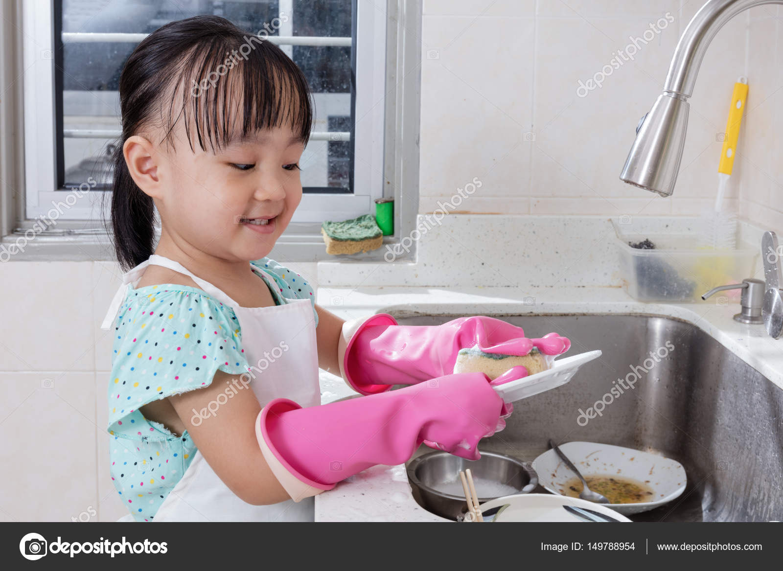 Imágenes: Lavando Platos