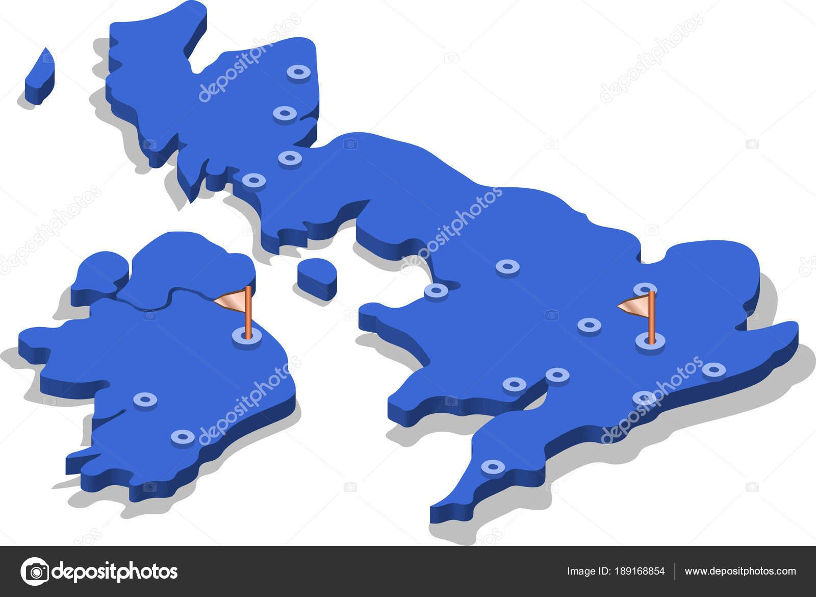 england karta städer Isometrisk Karta Över England Med Blå Yta Och Städer Isolerade  england karta städer