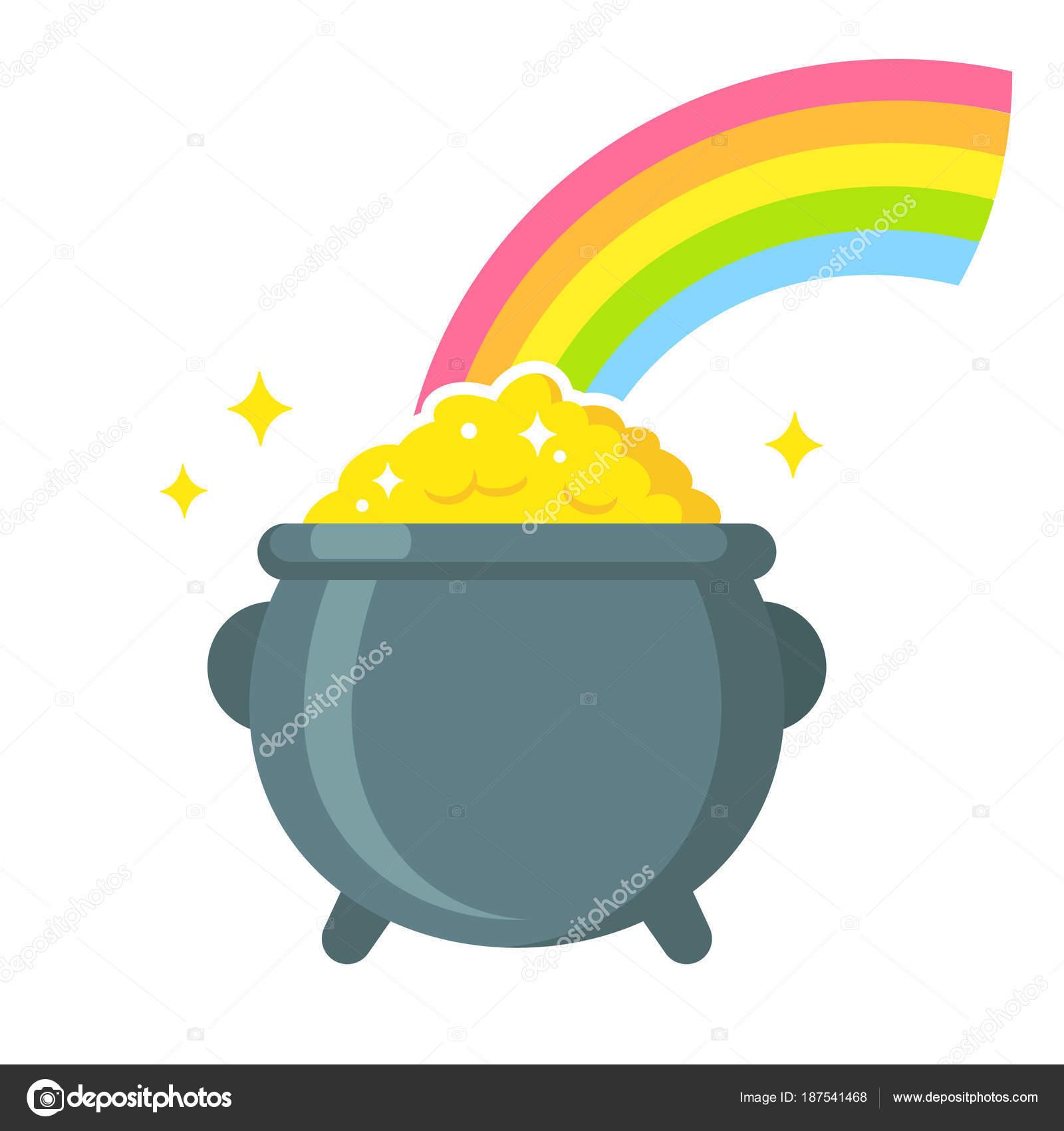 Goldtopf Regenbogen
