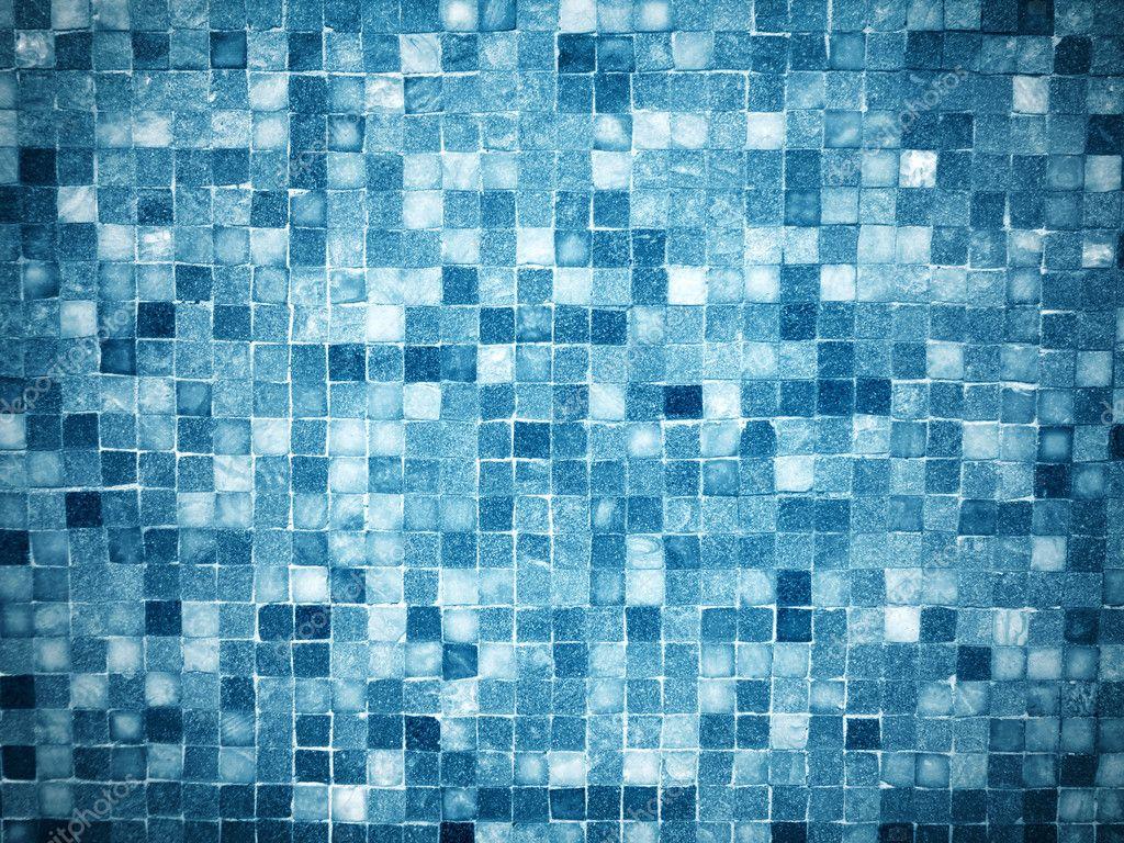 Gradiente blu colorato mosaico piastrelle u foto stock slay
