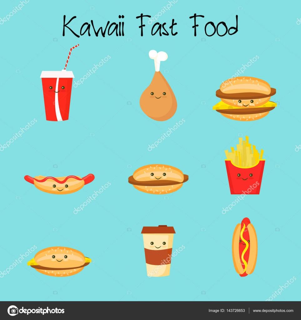 Dibujos Comida Kawaii Para Imprimir Dibujos Animados De Comida