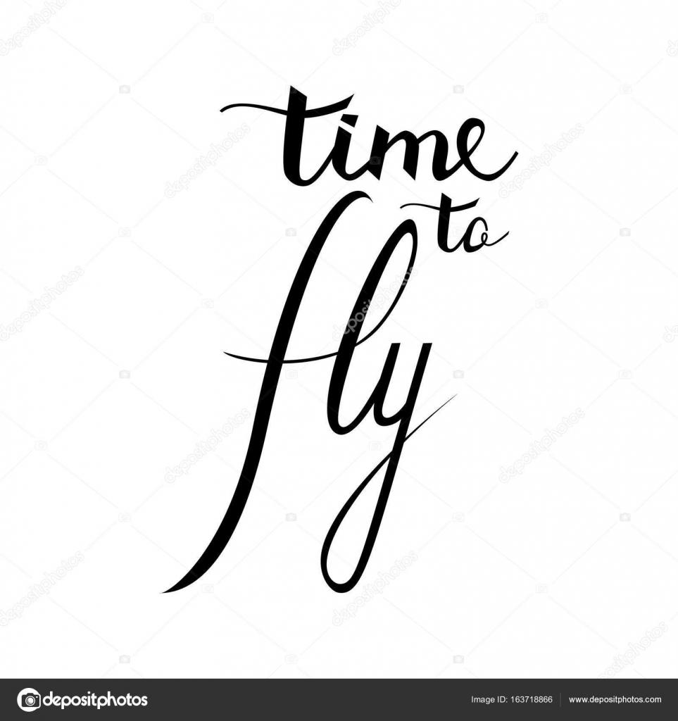Tiempo Para Volar Inspiracional Sobre Feliz Frase De La