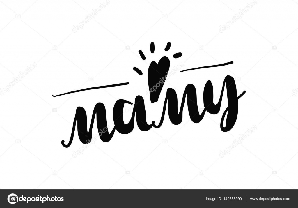 Hand drawn lettering happy mothers day stock vector