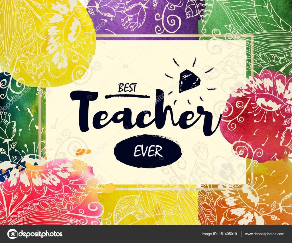grattis på dagen Glad lärare s dag hälsning Card. ram med Grattis till dagen av  grattis på dagen