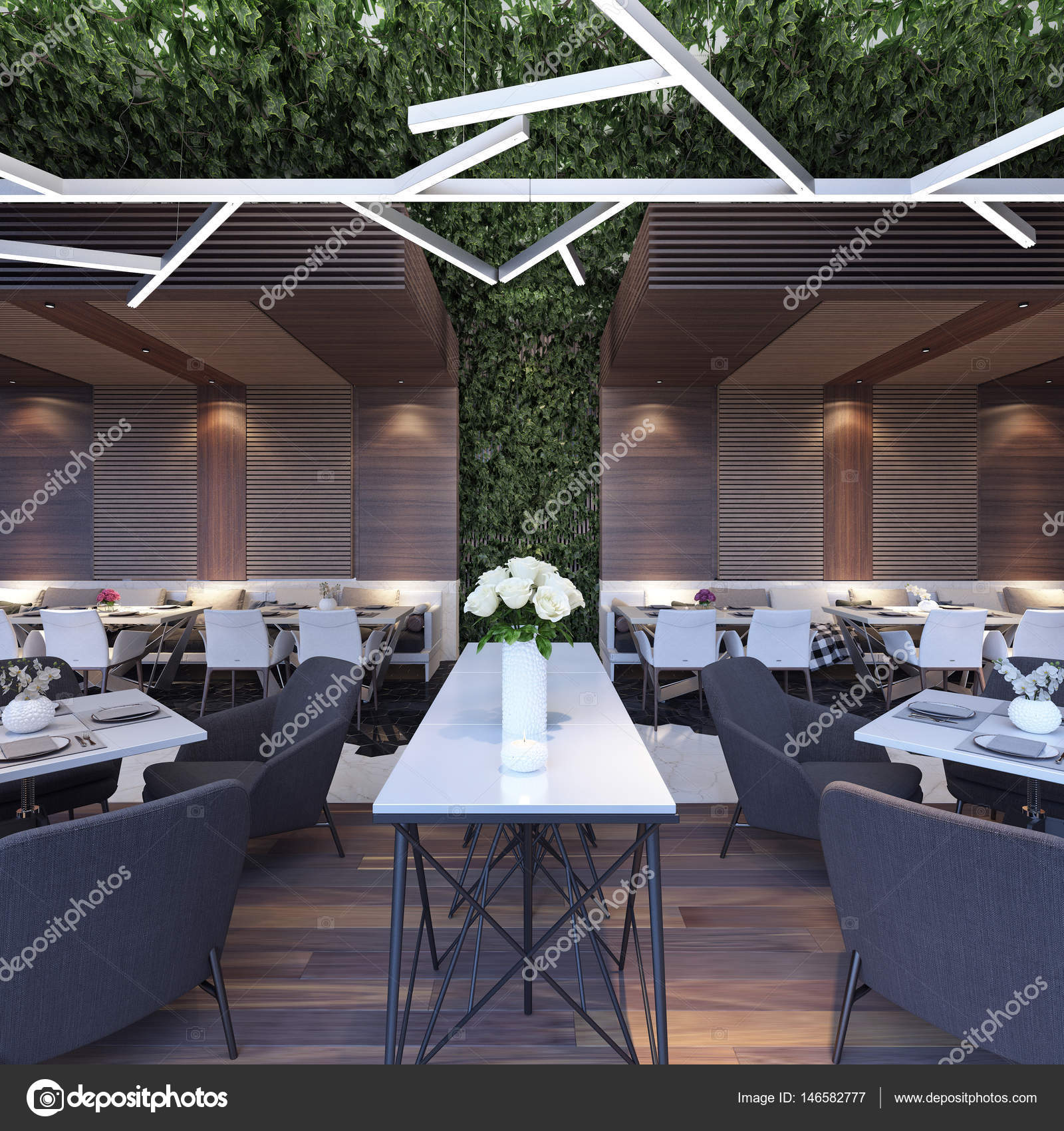 Modern Concept Design Of Restaurant Lounge Stock Photo C Hd3dsh 146582777