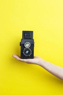 Vintage hipster camera