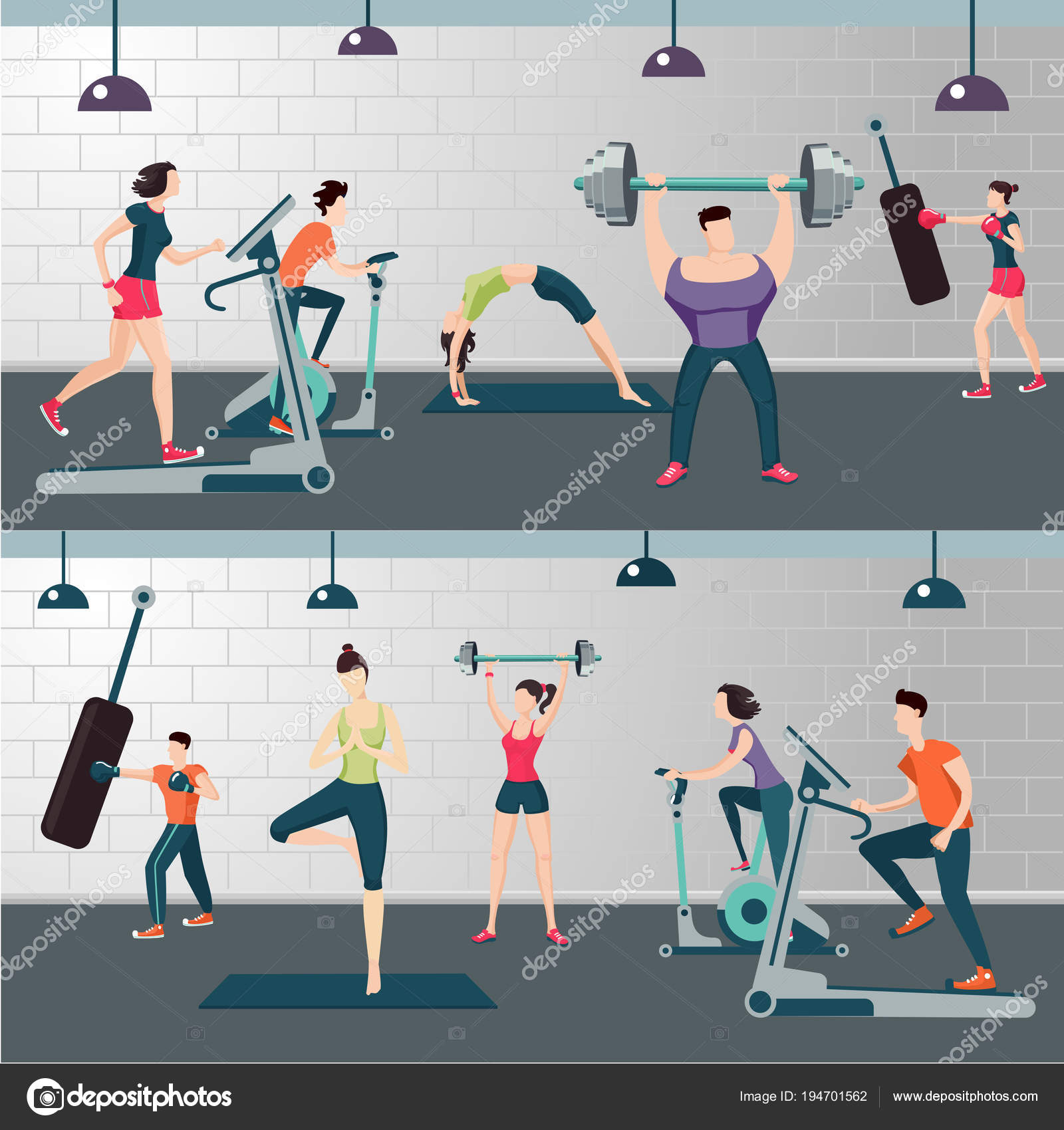 Luxury gym room images stock photos vectors shutterstock
