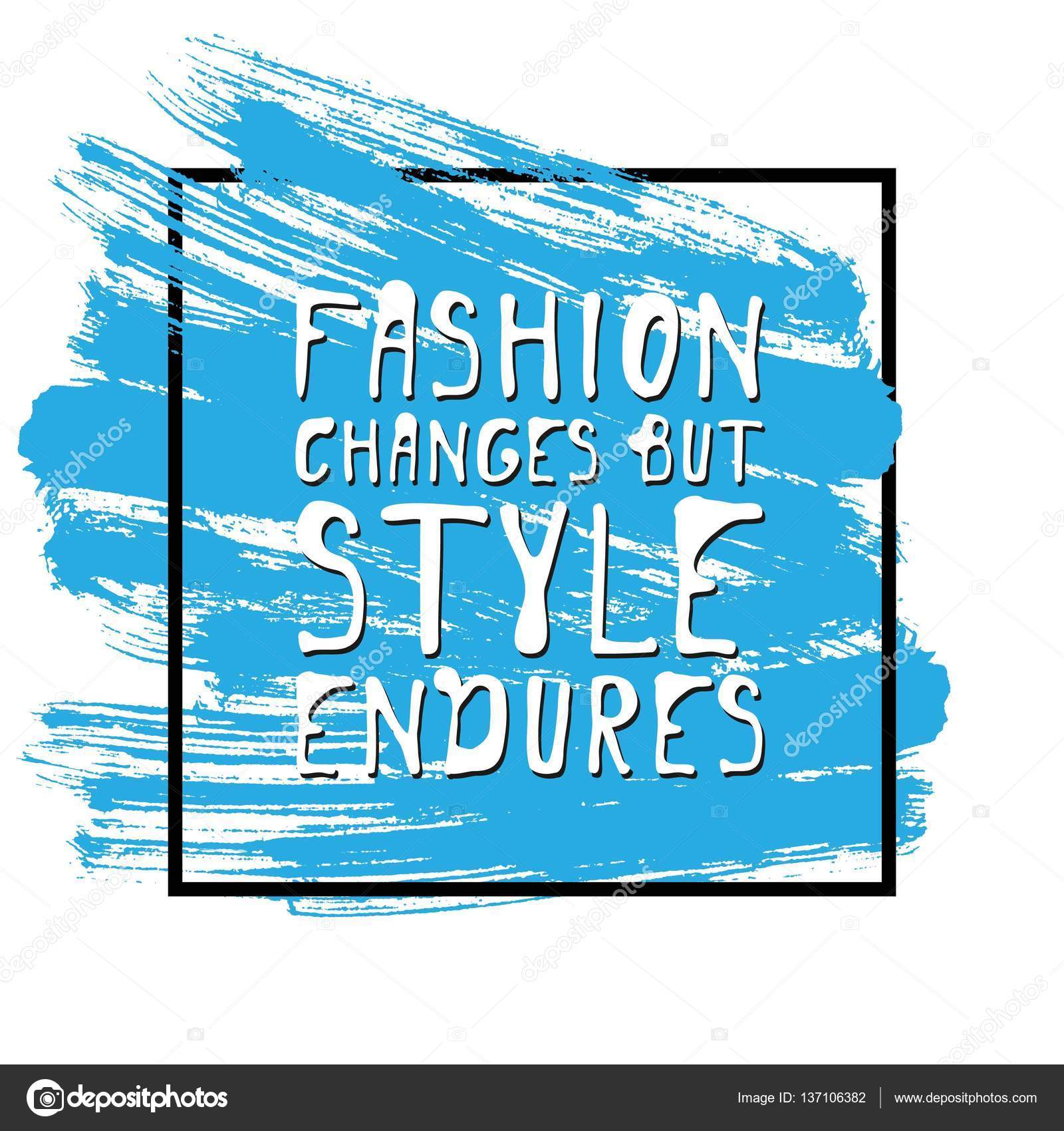 Stock Quote T Fashion Changes But Style Enduresmotivational Quotetshirt