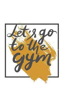 Quotes for fitness, gym. Hand lettering and custom typograph