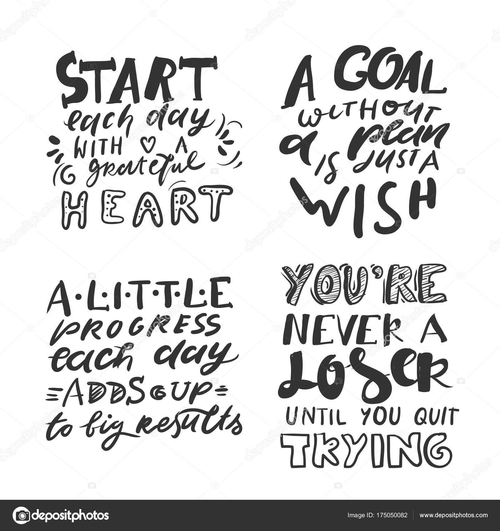 Cotizaciones de fitness, gimnasio. Letras de mano y tipografía ...