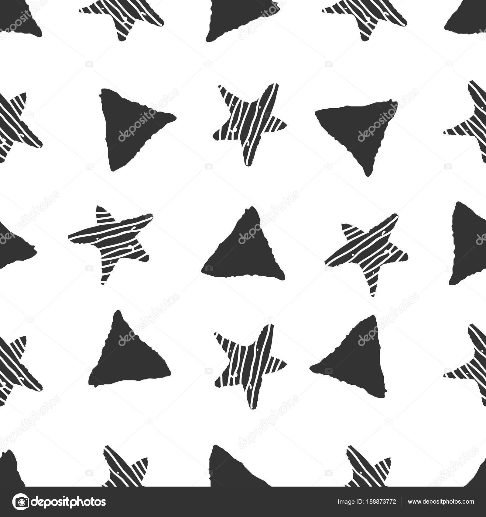 Resumen doodle de patrones sin fisuras. dibujado a mano — Vector de ...