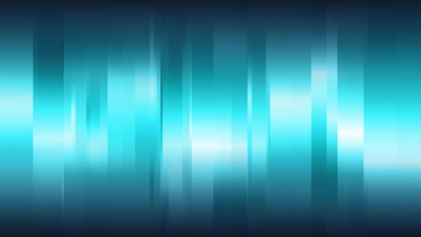 Blue abstract background with vertical shining stripes, seamless loop