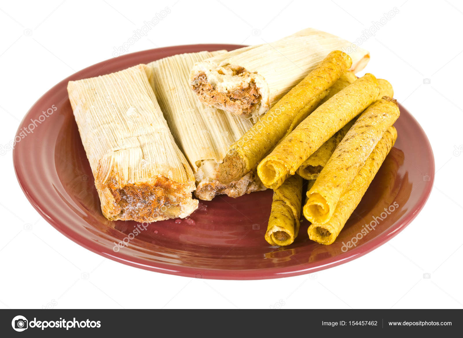 Frozen Tamales And Tacos On Ceramic Plate \u2014 Stock Photo  sc 1 st  Depositphotos & Frozen Tamales And Tacos On Ceramic Plate \u2014 Stock Photo © Foto.Toch ...