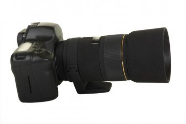 Black Digital SLR
