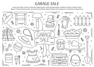 Garage sale elements