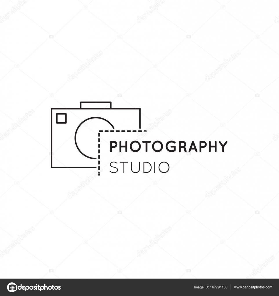 Fotografie Linie Logo Vorlage Stockvektor Juliakhimich 167791100
