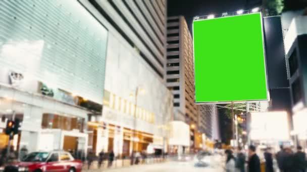 a Green Screen .time telik el egy hirdetőtábla